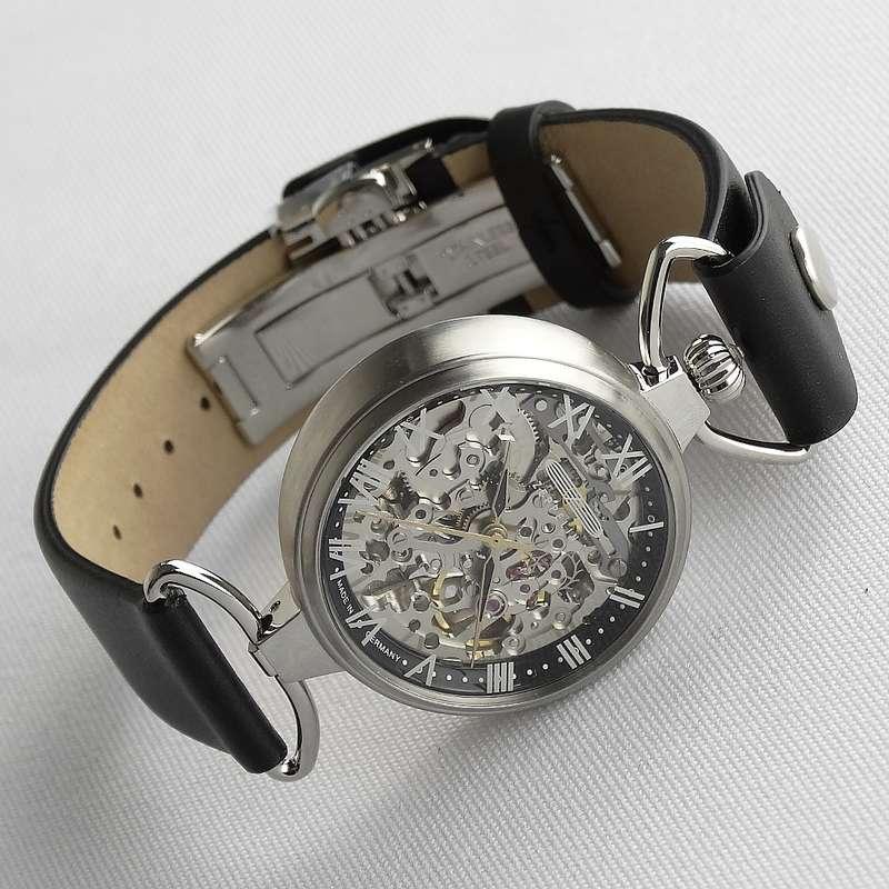 Skelettierte Uhr